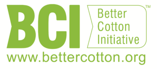 BCI better cotton logo
